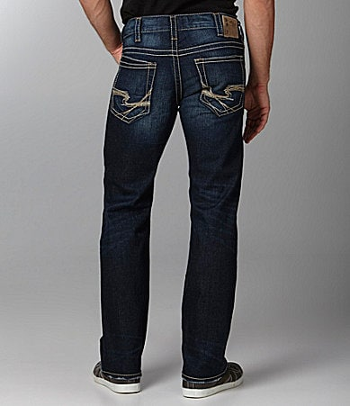 Silver Jeans Zac Straight-Fit Jeans