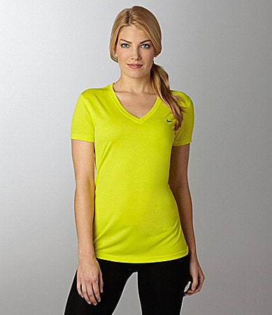 Nike Legend V-Neck Workout Tee