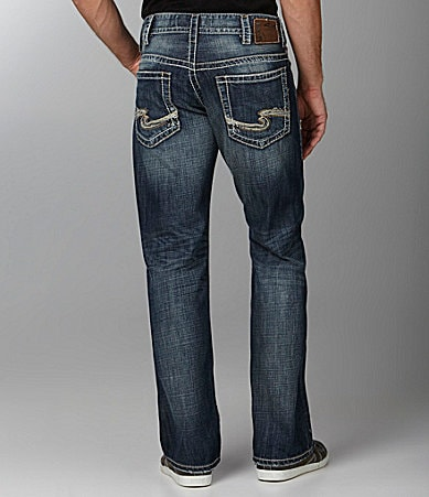 Silver Jeans Co. Gordie Straight-Fit Jeans