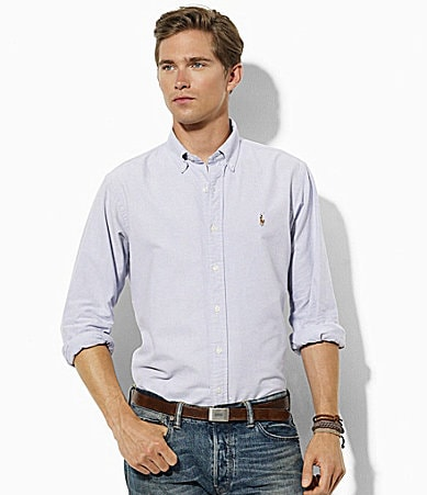 Polo Ralph Lauren Classic-Fit Basic Oxford Shirt