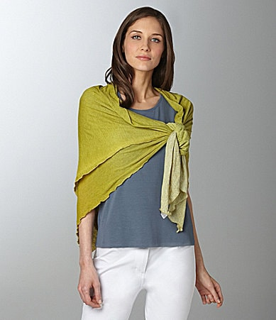 Eileen Fisher Diamond Ombre Scarf
