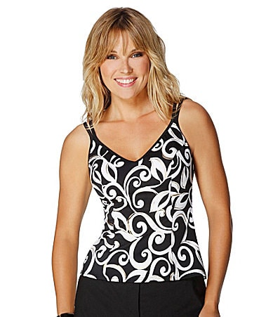 Miraclesuit Curly Cue Tankini Top