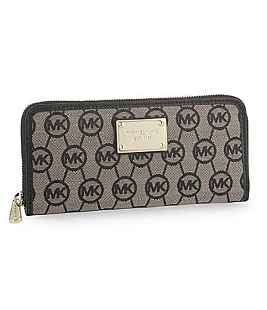 MICHAEL Michael Kors Jet Set Monogram Continental Wallet