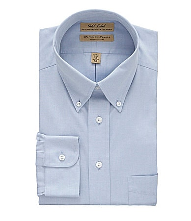 Roundtree & Yorke Gold Label Button-down Collar Dress Shirt