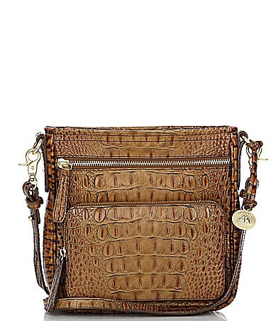 Brahmin Toasted Almond Collection Cleo Cross-Body Bag