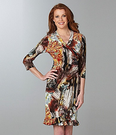 Laura Max Printed Dress