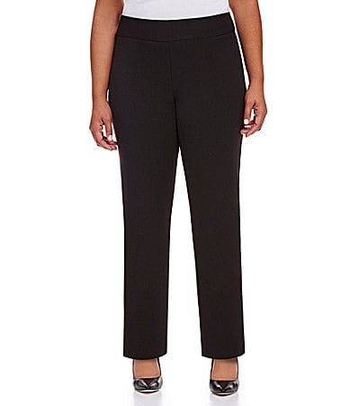 Investments II PARK AVE fit Straight-Leg Pants