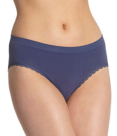 New! Modern Movement Cotton Seamless Hi-Cut Brief