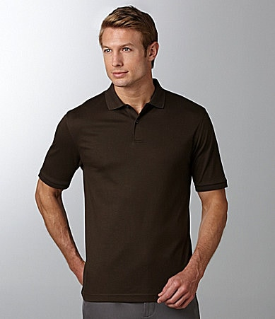 Murano Liquid Luxury Solid Polo Shirt