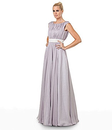 JS Collections Royalty-Inspired Chiffon Gown