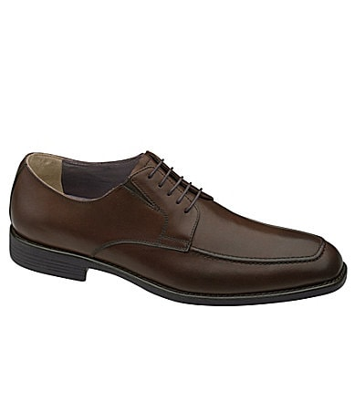 Johnston & Murphy Men�s Suffolk Moc-Toe Dress Oxfords