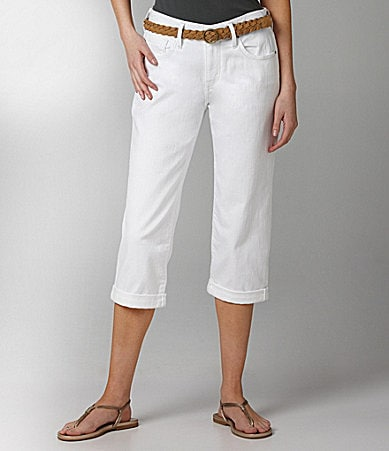 Levi�s 515 Cuffed Denim Capri Pants