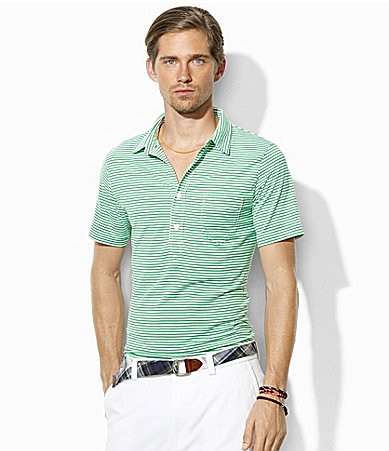 Polo Ralph Lauren Classic-Fit Vintage Cotton Lisle Polo Shirt