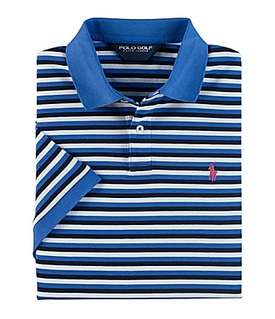 Polo Ralph Lauren Pro-Fit Striped Pima Mesh Polo Shirt