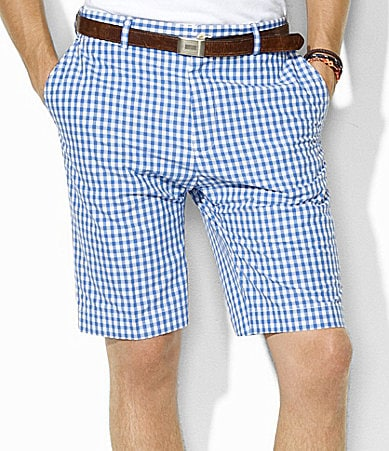 Polo Ralph Lauren Links Plaid Poplin Shorts