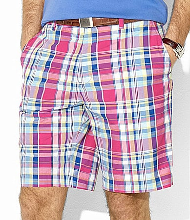 Polo Ralph Lauren Links Gingham Poplin Shorts