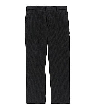 Class Club 8-20 Striped Flat-Front Dress Pants