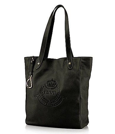 Lauren Ralph Lauren Putnum Leather Tote