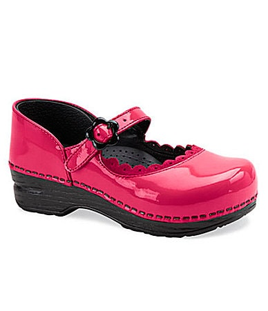 Dansko Girls Jill Mary Jane Clogs