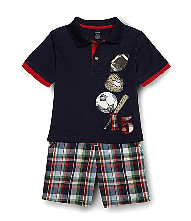 Class Club 2T-7 2-Piece Sports Short Set