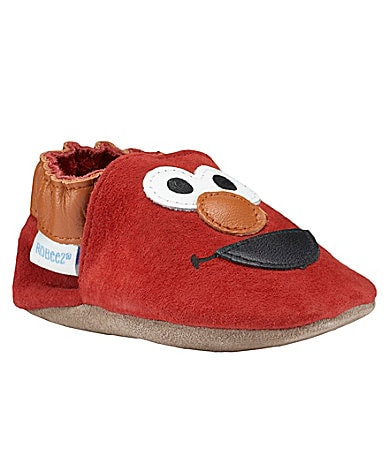 Robeez Infants 3D Elmo� Crib Shoes