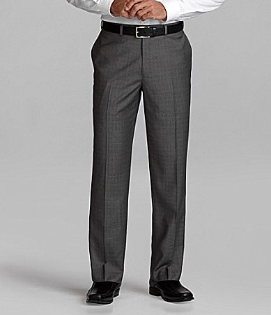 Ralph Lauren Plaid Flat Front Pants