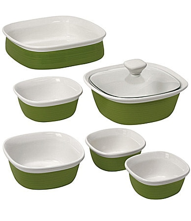 CorningWare 7-Piece Etched Bakeware Set