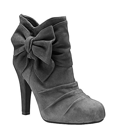Gianni Bini Halo Suede Booties