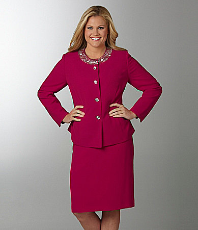 Kasper 2-Piece Skirted Suit