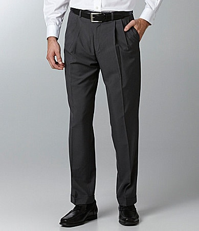Polo Ralph Lauren Pleated Check Dress Pants