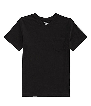 First Wave 8-20 V-Neck Pocket Tee