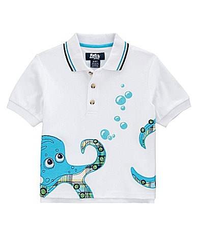 Class Club 2T-7 Adventure Wear Octopus Polo Shirt
