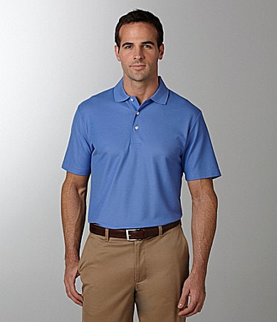 Daniel Cremieux Signature Solid Luxury Pique Polo Shirt