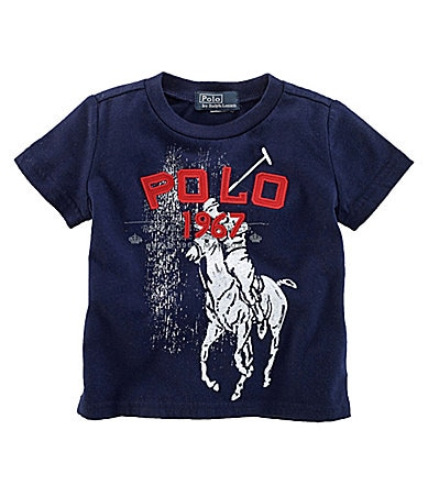 Ralph Lauren Childrenswear Infant Jersey Tee
