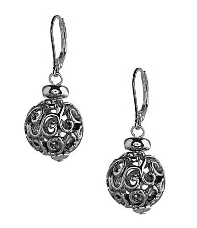 Dillard�s Scroll Collection Scroll Drop Earrings