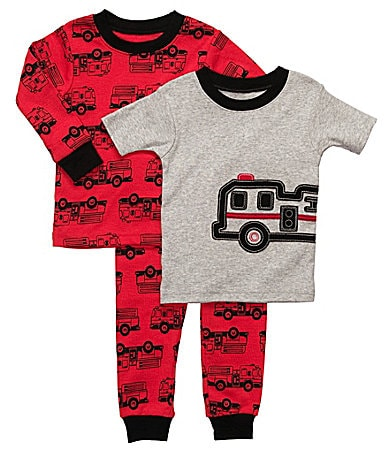Carter's Toddler Fire Truck 3-Piece Pajama Set