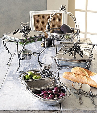 Star Home Designs Birds & Branches Serveware Collection