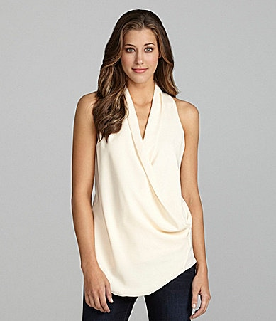 MM Couture by Miss Me Draped Racerback Top