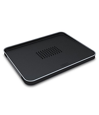 Joseph Joseph Black Large Cut & Carve Multifunction Chopping Board