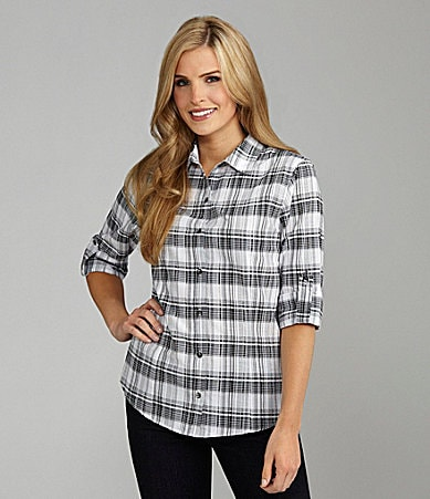 Westbound Easy Care Plaid Shirt