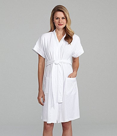 Lauren by Ralph Lauren Short Sleeve Spa Robe