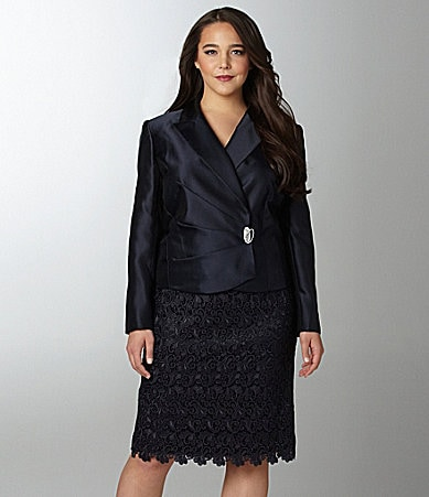 Tahari by ASL Woman 2-Piece Skirted Suit