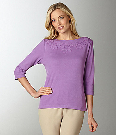 Westbound Applique Knit Top