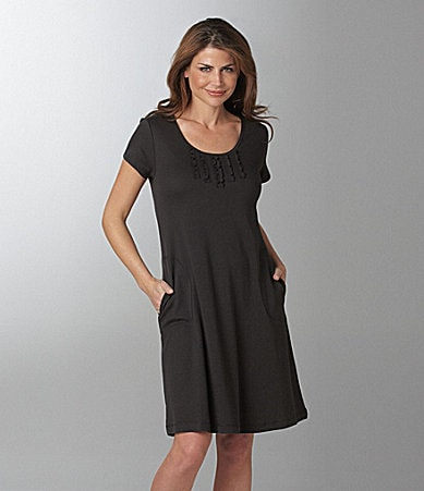 Miss Elaine Short Pullover Knit Dress