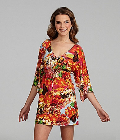 Josie Raiders Floral Tunic