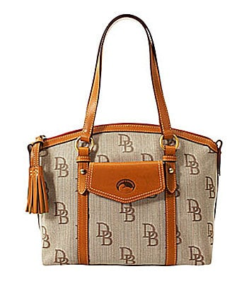 Dooney & Bourke Signature Florentine Front Pocket Satchel