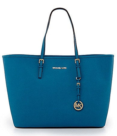 MICHAEL Michael Kors Medium Leather Travel Tote