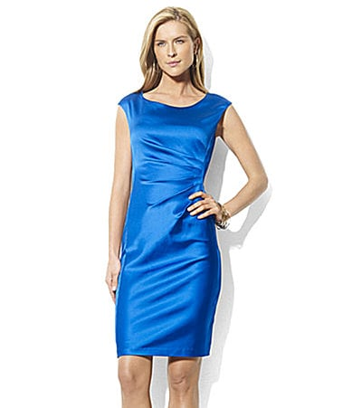 Lauren Ralph Lauren Cap Sleeve Dress