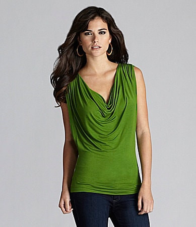 Gianni Bini Bethanny Draped Top