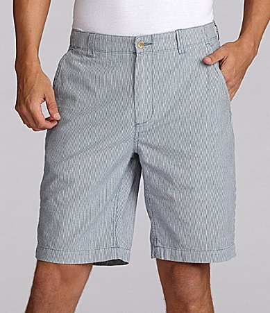 Cremieux Cotton William Striped Shorts